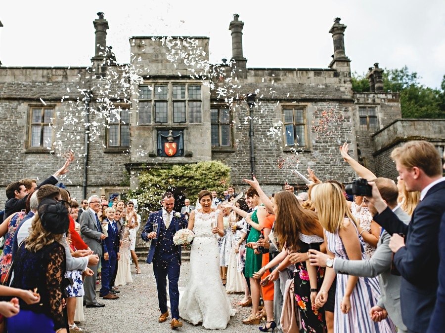 Tissington Hall Weddings